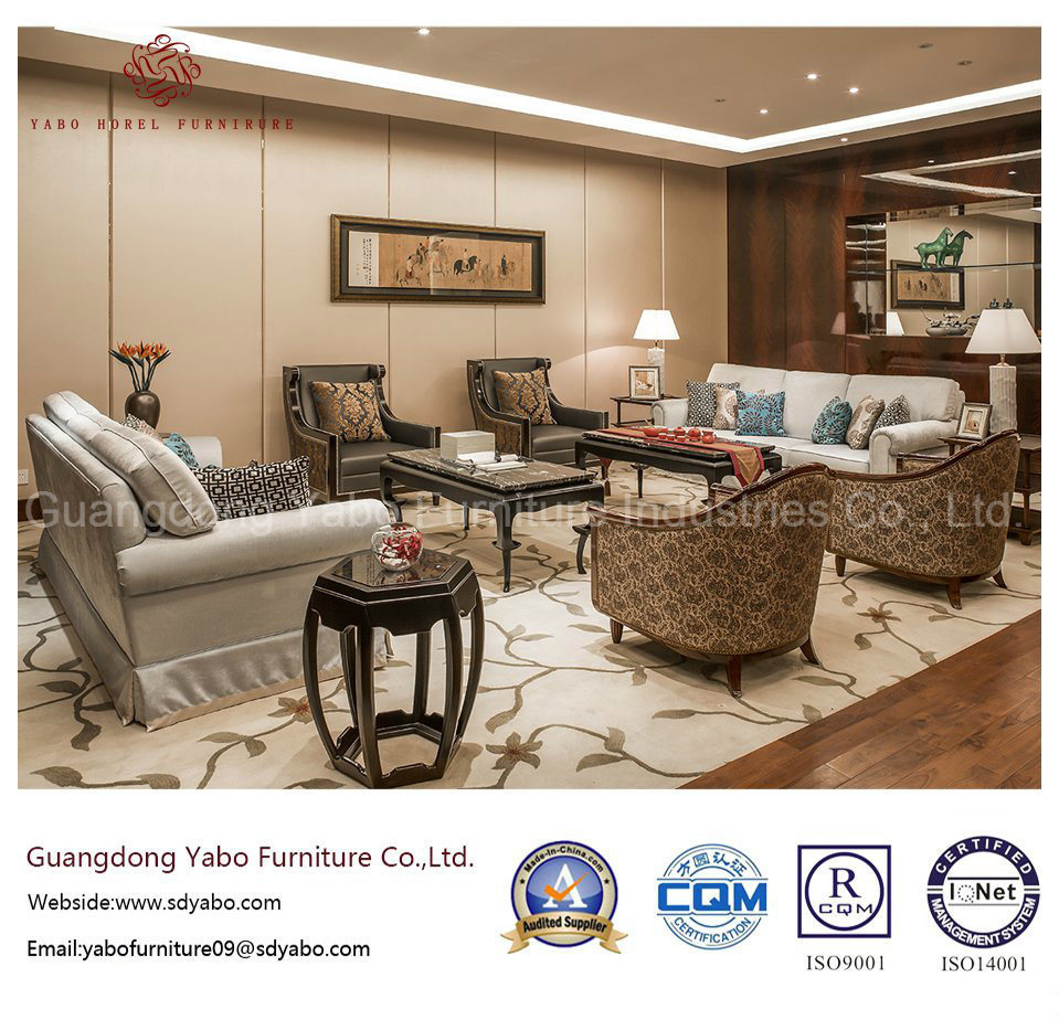 Upscale Hotel Furniture with Living Room Furniture Set (YB-OK63)