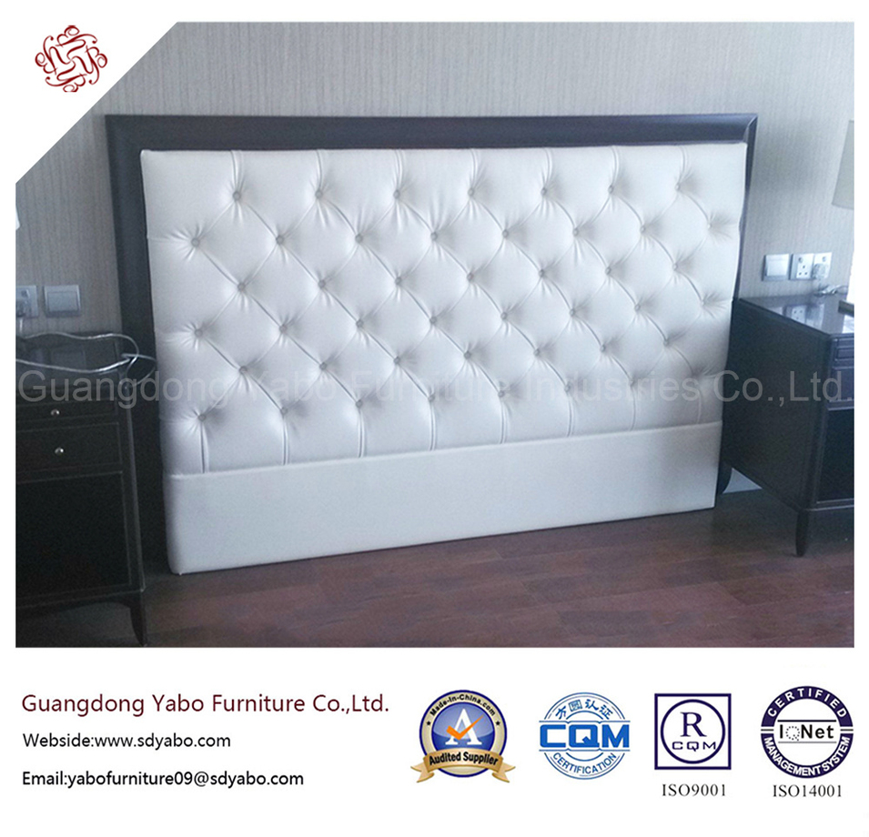 Simple Hotel Furniture with Wood Headboard for Bedroom (8627)