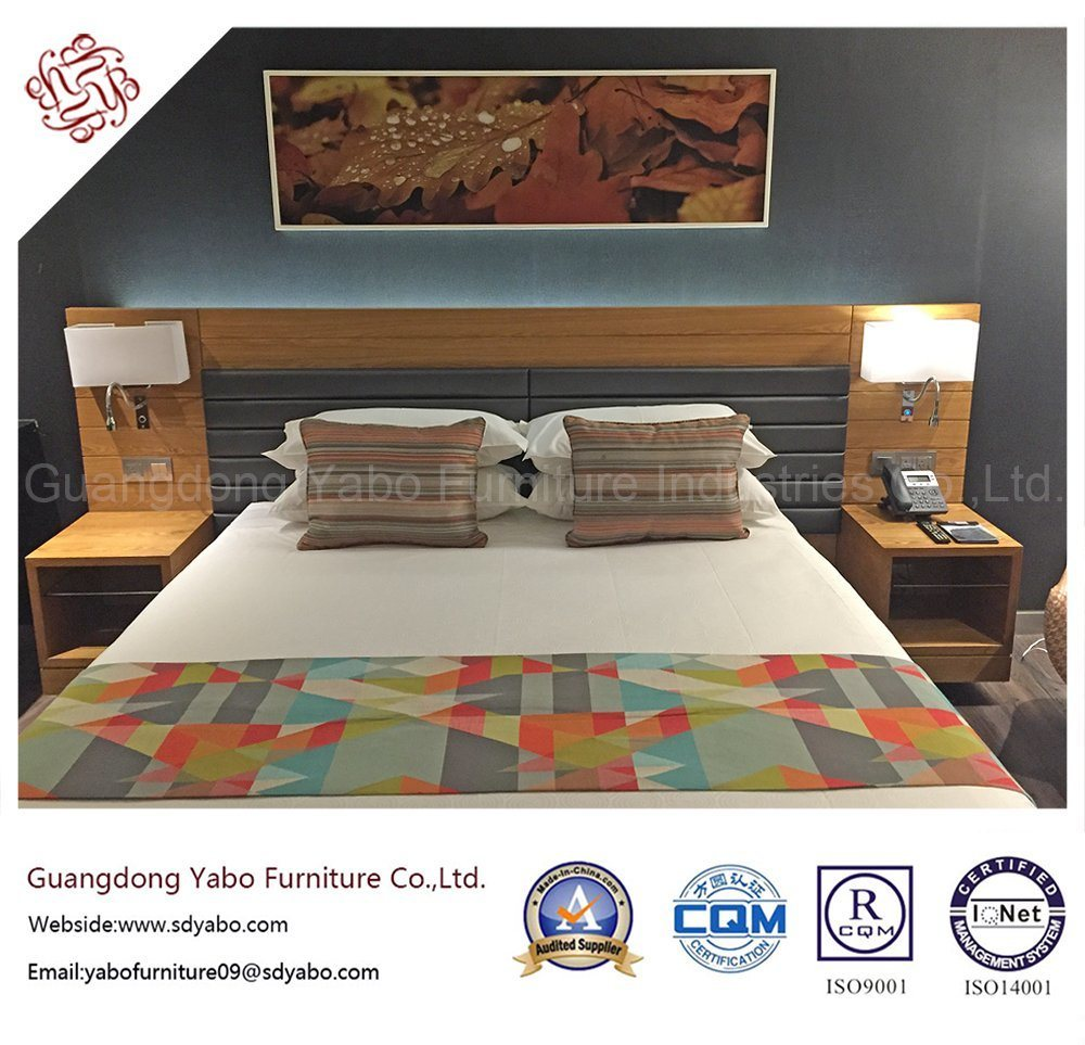 Fashionable Hotel Furniture with King Bedroom Furniture Set (YB-G-1)