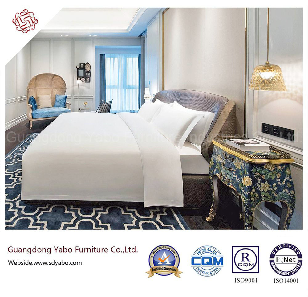 Starred Thrifty Hotel Bedroom Furniture with Delicate Design (YB-GN-1)