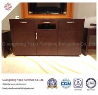 Modern Hotel Furniture with Bedroom Wooden TV Stand (YB-O-6)