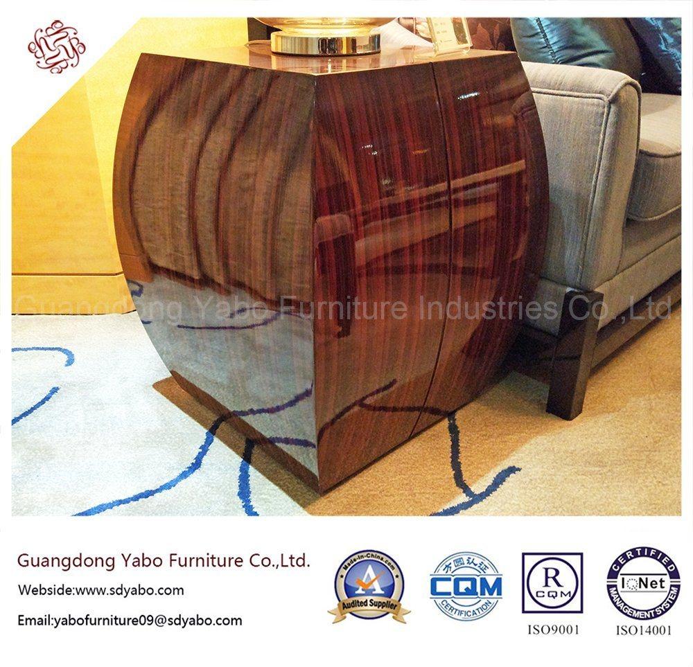 Popular Hotel Furniture with Living Room Veneer Side Table (YB-D-29)