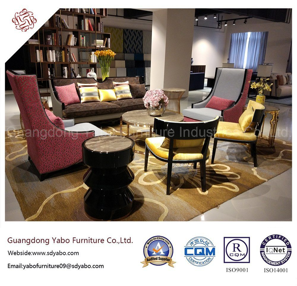 Modern Hotel Furniture with Marble Side Table (YB-D-20)