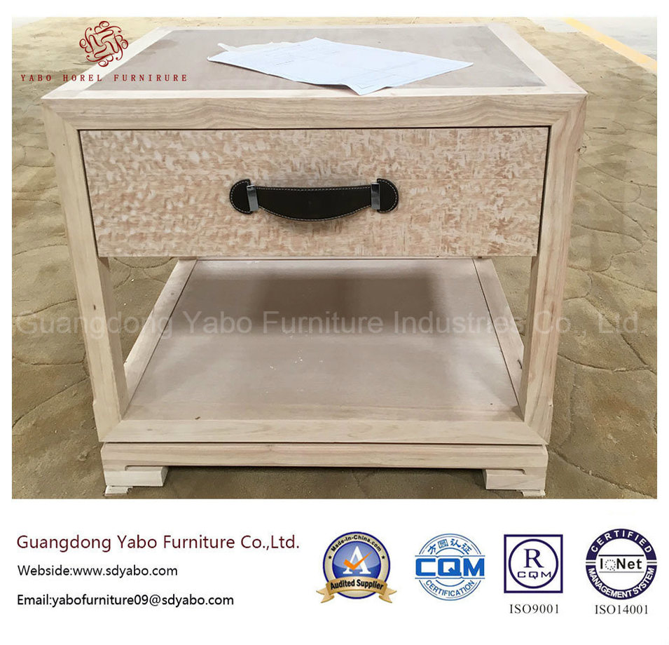 Good Design Hotel Furniture with Wooden Nightstand (YB-AE-2)