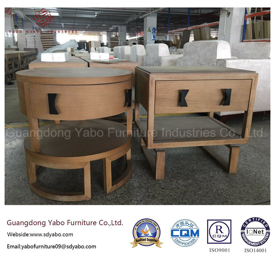 Simple Hotel Furniture for Wood Nightstand for Bedroom Furniture (YB-YL-1)