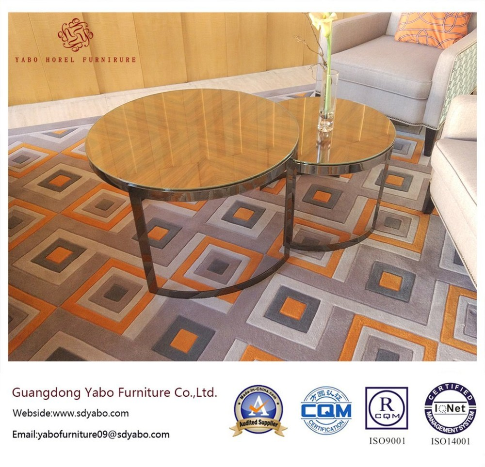 Yabo Hotel Furniture for Living Room with Side Table (YB-F-2222)