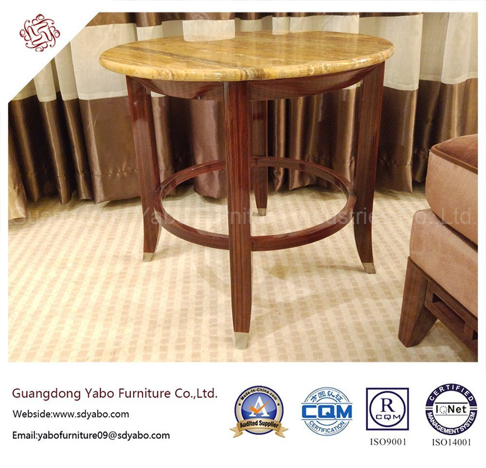 Commerical Hotel Furniture with Marble Coffee Table (YB-O-10)