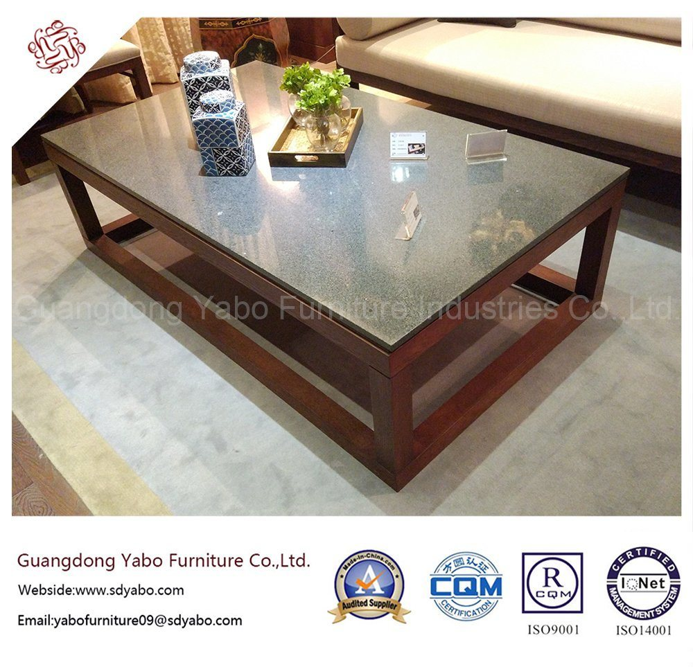 Elegant Hotel Furniture with Marble Coffee Table (YB-O-13)