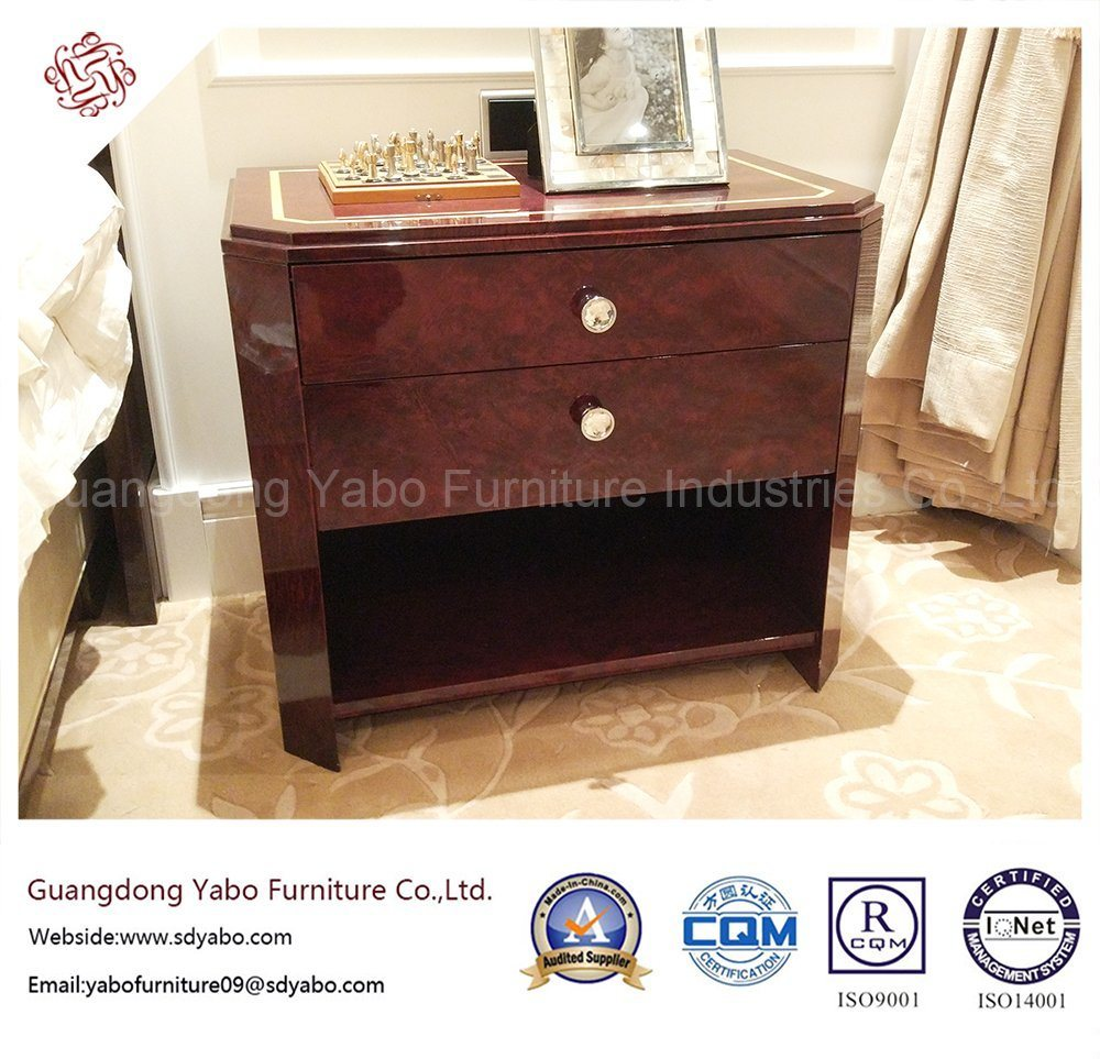 Modernistic Hotel Furniture with Drawer Nightstand (YB-O-8)