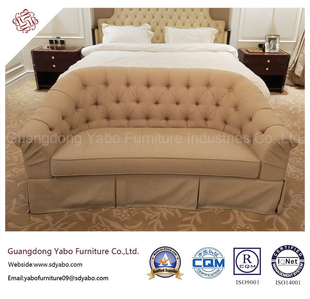 Custom Made Hotel Furniture with Fabric Sofa (YB-O-11)