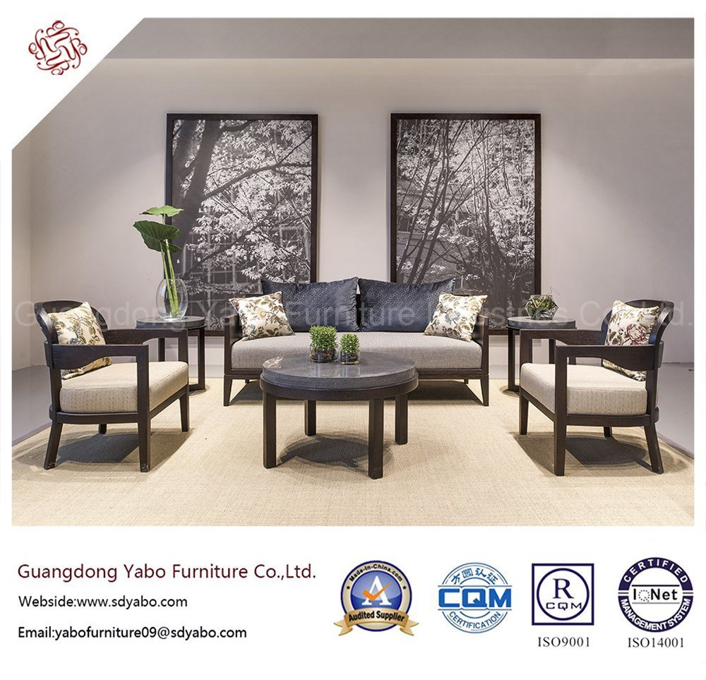 Hotel Furniture Chinese Fabric Sofa Set