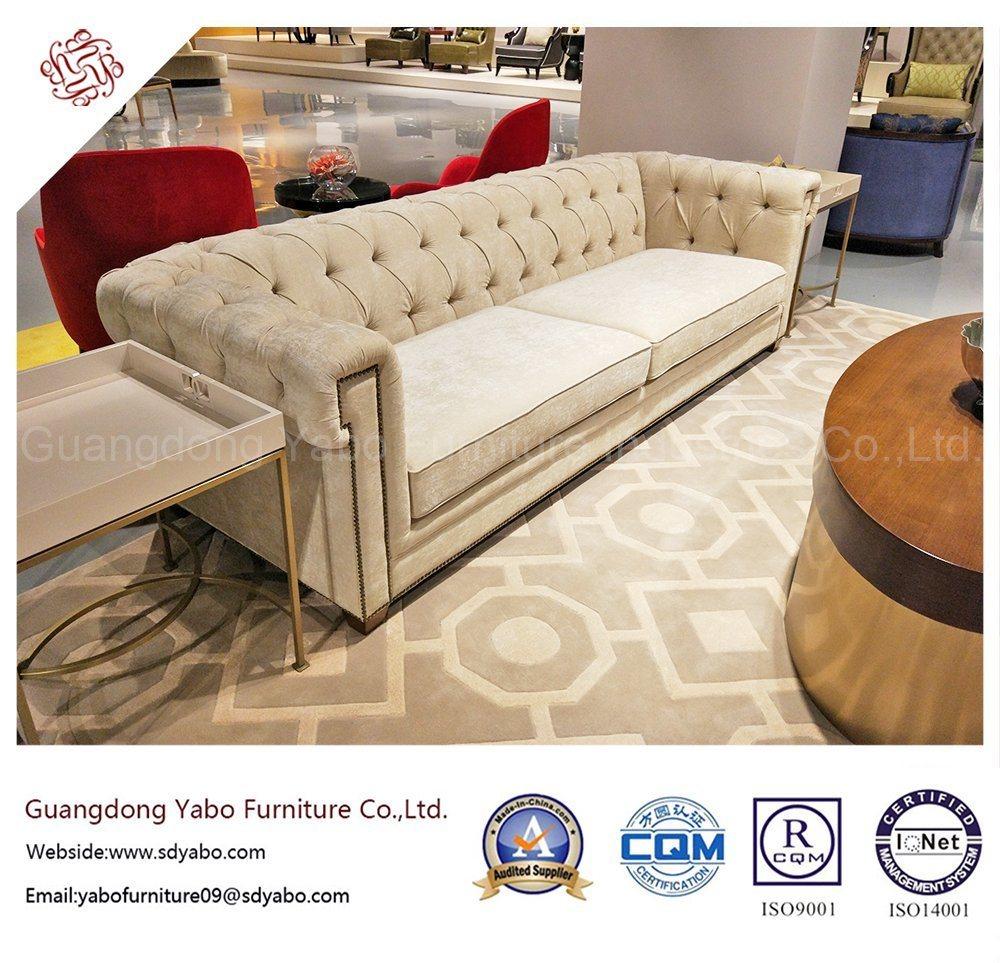 Elegant Hotel Furniture Living Room Wooden Sofa (YB-O-37)
