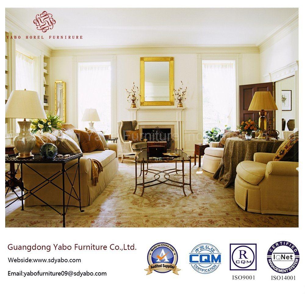 Fabulous Hotel Furniture with Living Room Fabric Sofa (YB-O-66)