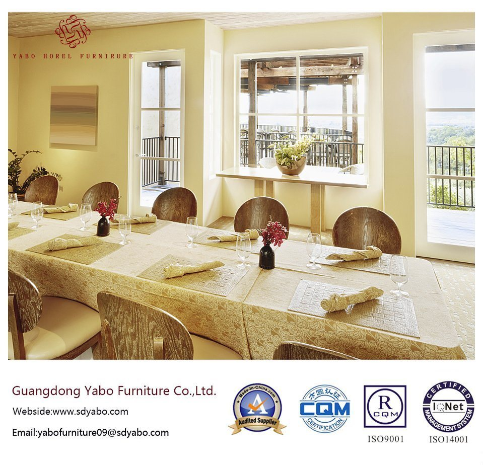 Splendid Hotel Restaurant Furniture with Table and Chair (YB-O-84)