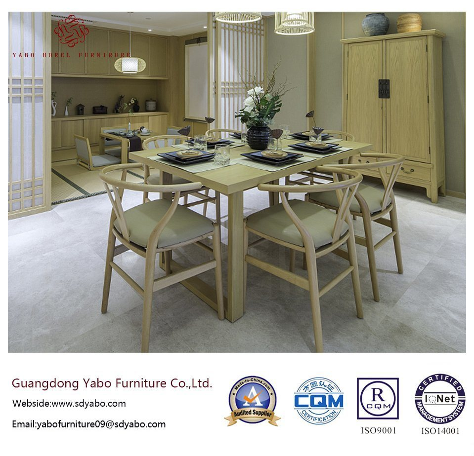 Luxurious Hotel Restaurant with Table and Chair (YB-O-86)