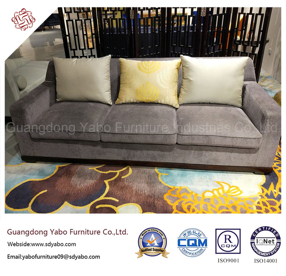 Delicate Hotel Furniture for Living Room Fabric Sofa (YB-WS-88)