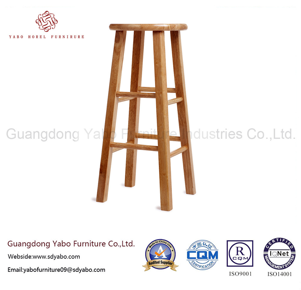 Concise Bar Furniture with Solid Wood Bar Stool (264)