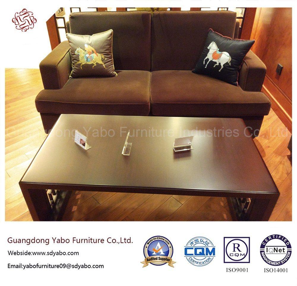 Simple Design Hotel Furniture with Living Room Fabric Sofa (YB-E-22)