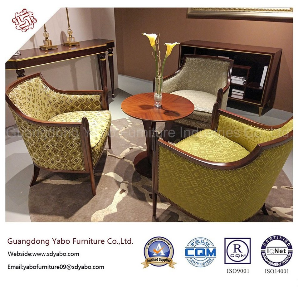 Modern Restaurant Furniture with Coffee Table and Chair (YB-O-32)