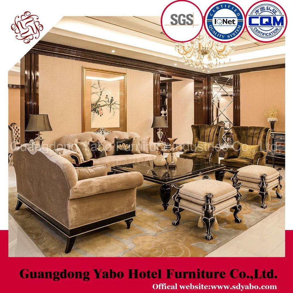 Star Hotel Furniture with Luxury Living Room Furniture Set (HL-2-5)