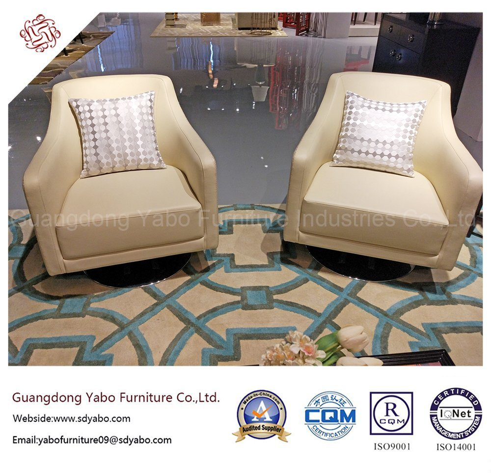 fashion Hotel Bedroom Furniture with Fabric Armchair (YB-O-34)
