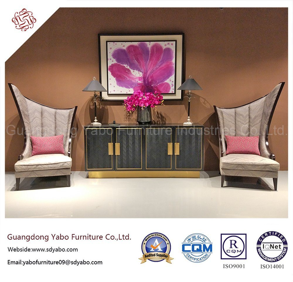 Commercial Hotel Furniture with Fabric High Chair (YB-O-39)