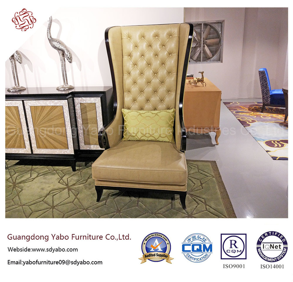 Chinese Hotel Furniture with Lobby Lounge High Chair (YB-O-40)