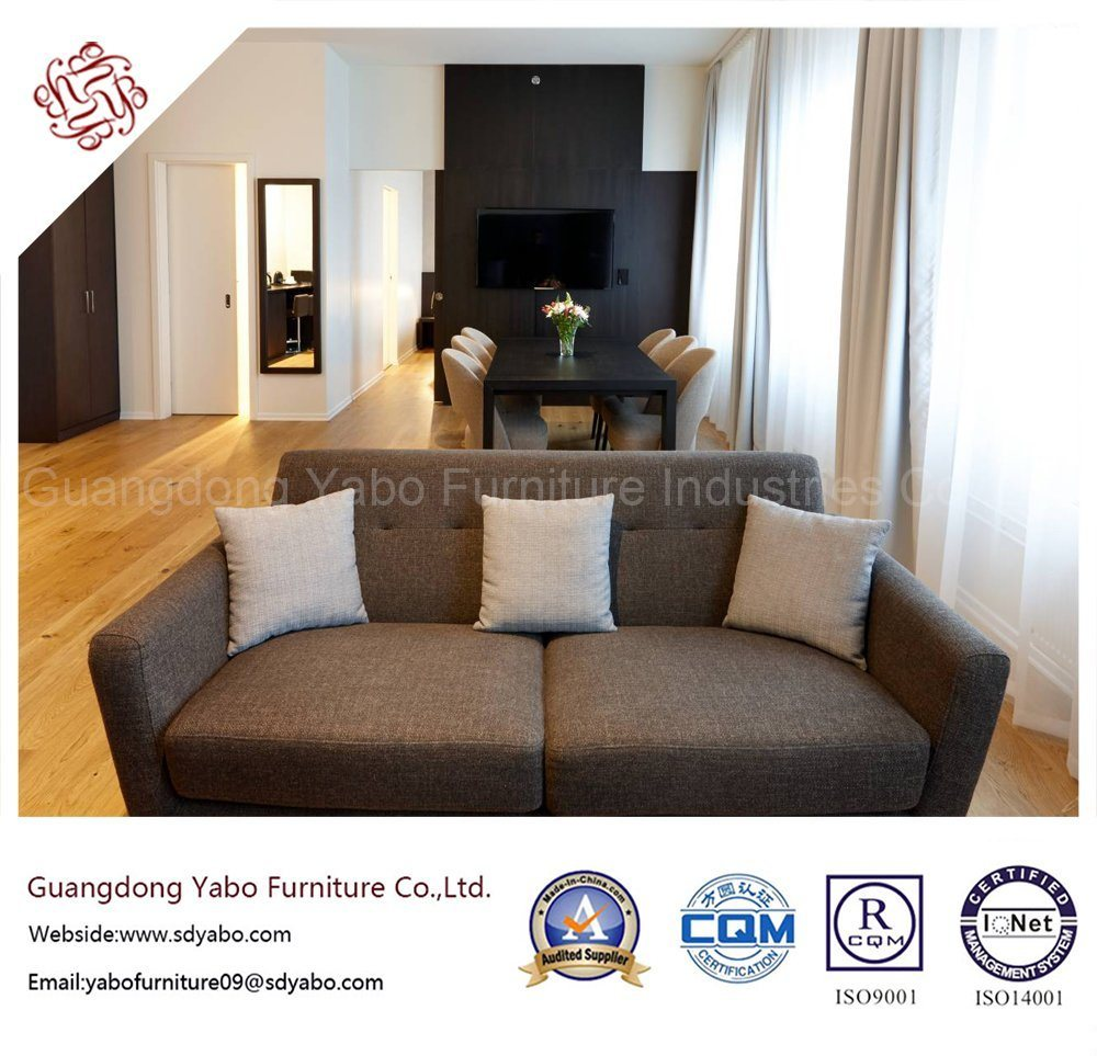 Salable Hotel Furniture with Bedroom Fabric Sofa (YB-O-42)