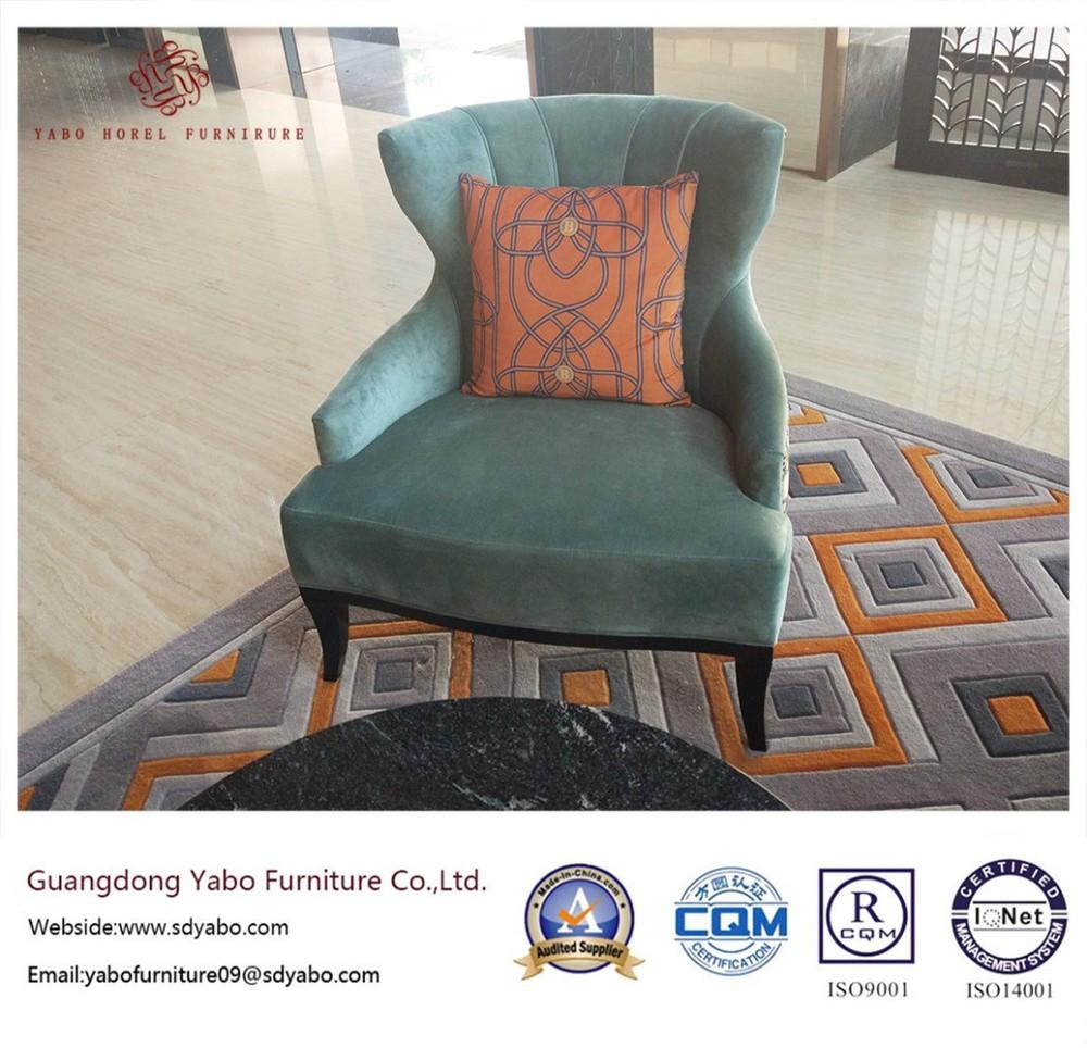 Custom Made Hotel Furniture with Fabric Sofa Set (YB-O-44)