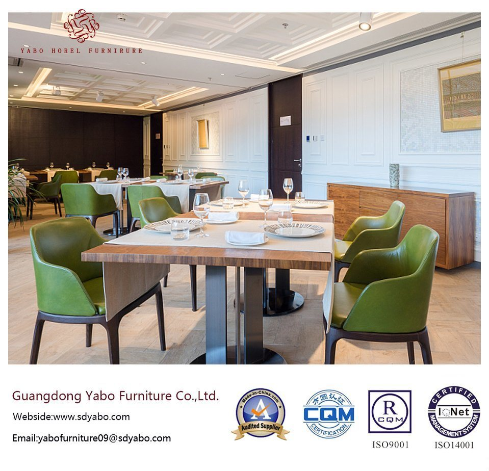 Contemporary Hotel Restaurant Furniture with Table and Chair (YB-O-83)