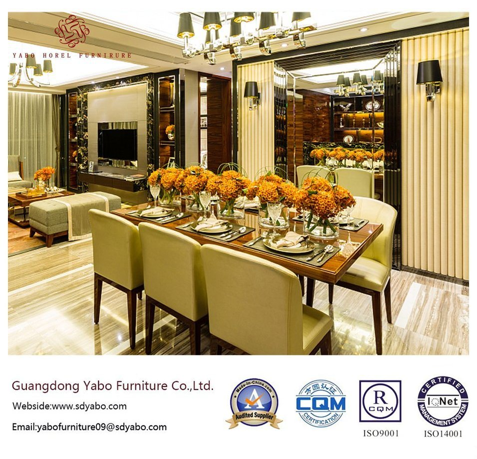 Fabulous Hotel Restaurant with Table and Chair (YB-O-87)