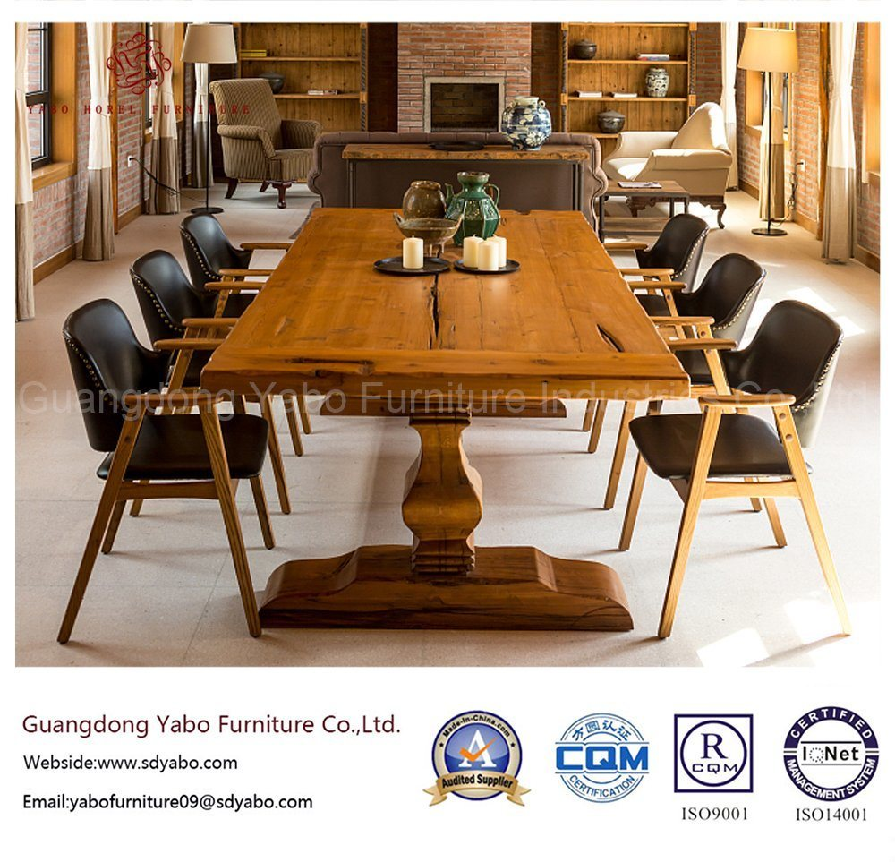 Salable Hotel Restaurant with Wooden Table and Chair (YB-O-88)
