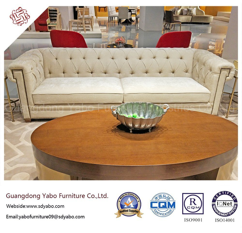 Delicate Hotel Furniture with Living Room Fabric Sofa (YB-D-10)