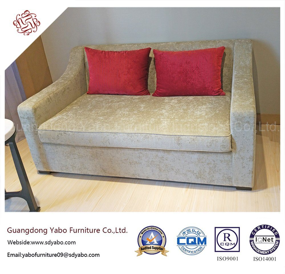 Modern Hotel Bedroom Furniture with Living Room Sofa Bed (YB-S-834)