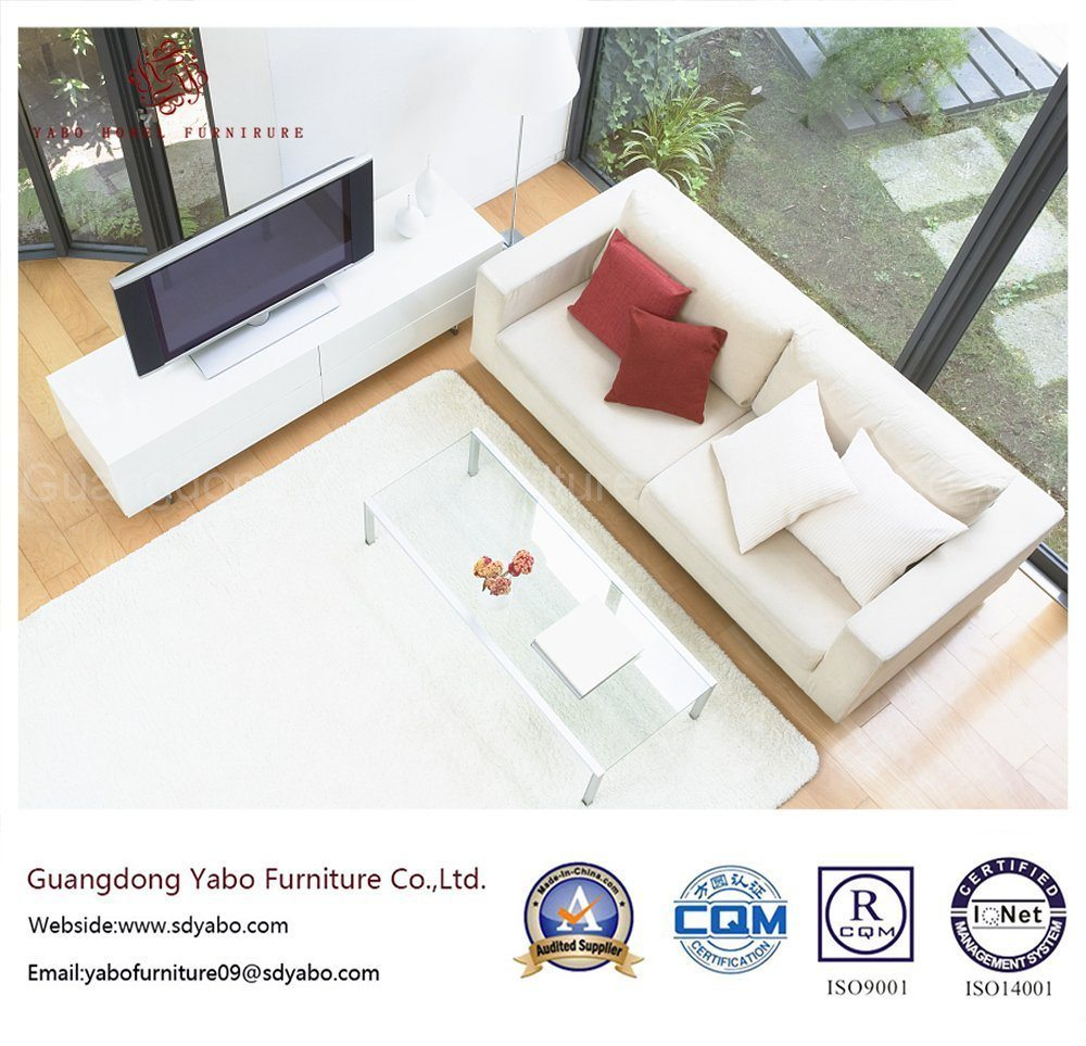 Modern Hotel Furniture with Wooden Living Room Furniture Set (YB-0704)
