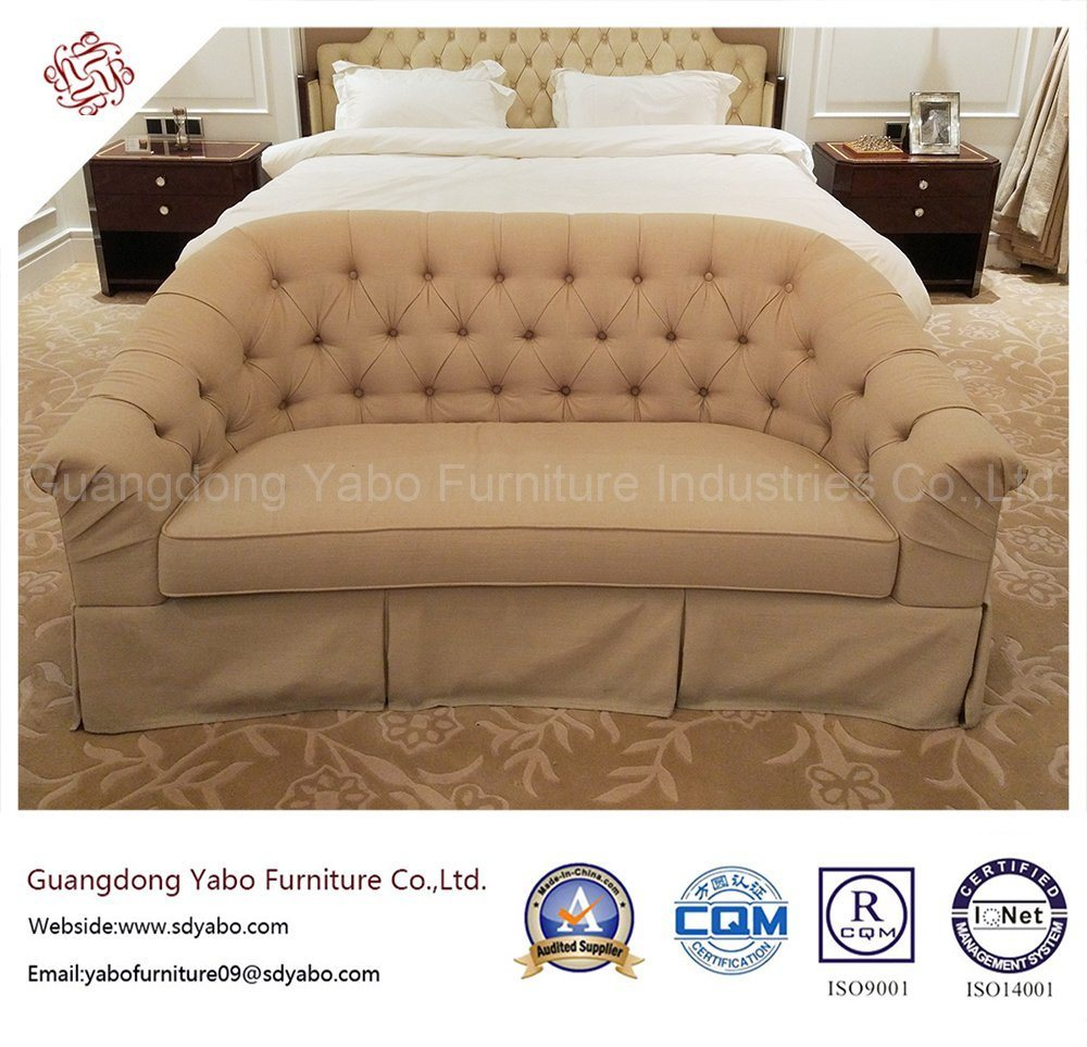 Luxury Hotel Bedroom Furniture with Living Room Sofa (YB-E-3)