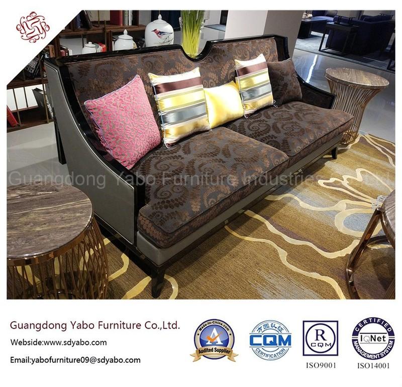Generous Hotel Furniture for Living Room Three Seat Sofa (6961)