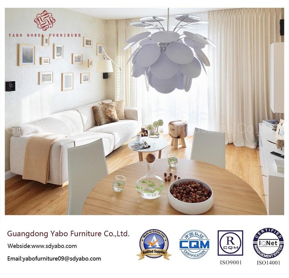 Generous Hotel Furniture for Living Room Three Seat Sofa (YB-W10)