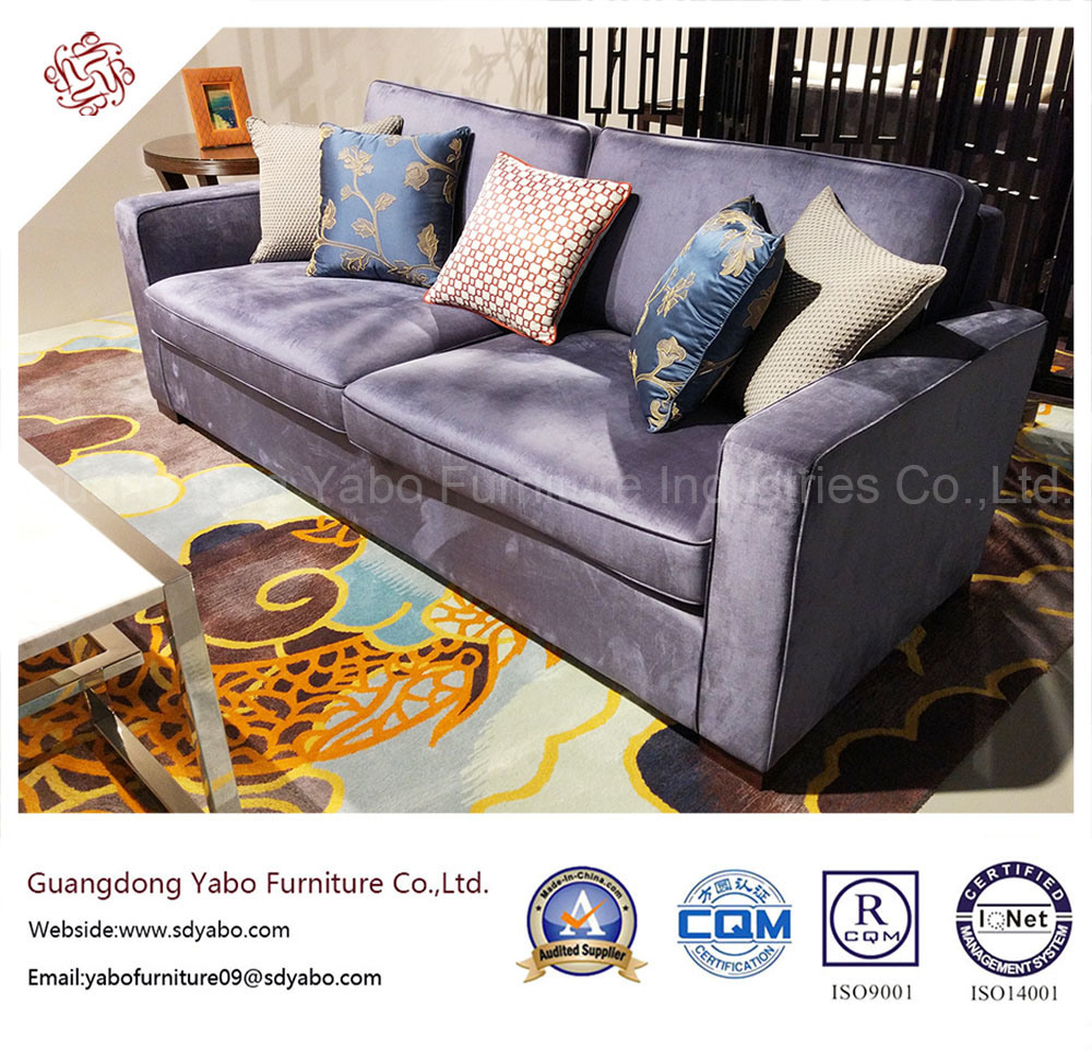 Generous Hotel Furniture for Living Room Sofa for Sales (YB-WS6)