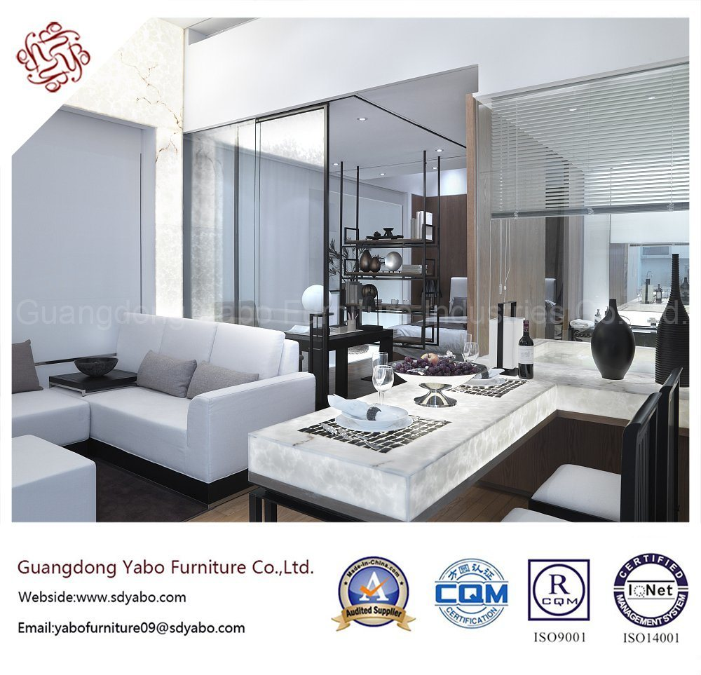 Casual Hotel Furniture for Living Room with Sofa Set (YB-B-19)
