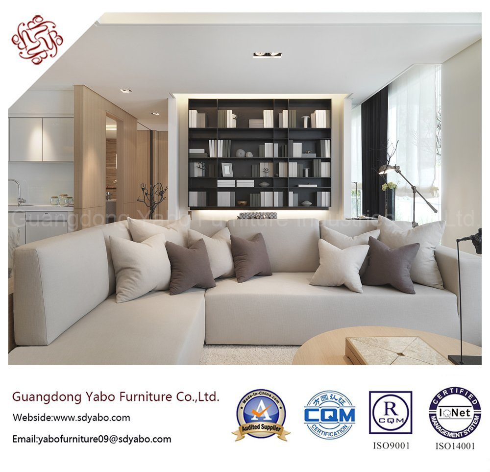 Concise Hotel Furniture with Living Room Sectional Sofa (YB-B-15)