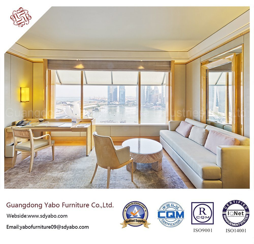 Simple Hotel Furniture with Living Room Sofa Set (YB-W06)