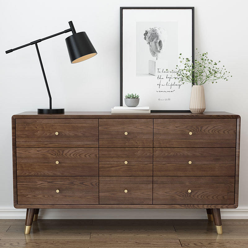 China factory Simple Nordic high Quality Hot saling cheap soild wooden cheap chest of drawers for bed room