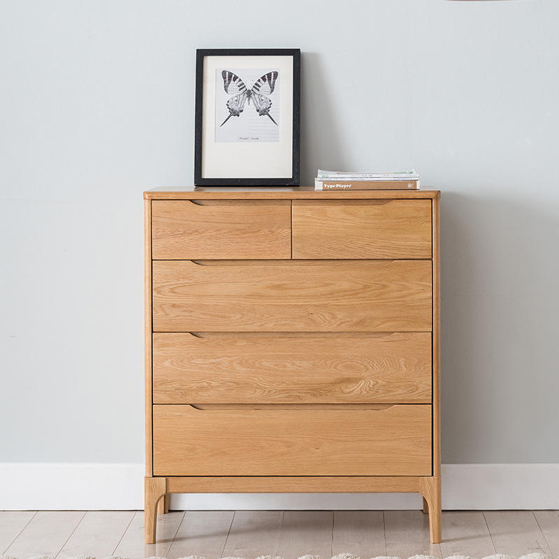 China wholesale luxury Supplier High quality Home furnitureTop Selling economic soild wooden chest of drawers