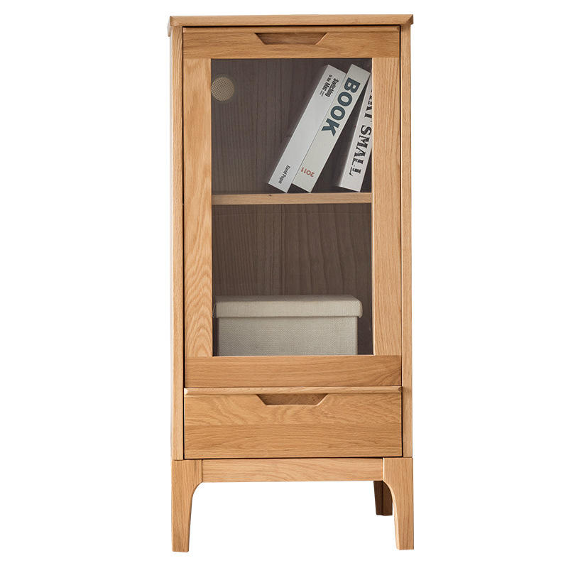 Storage Modern Bar Display Wooden Living Room Cellar Cooler Glass Liquor Wood Whiskey Custom Solid Wine Cabinet