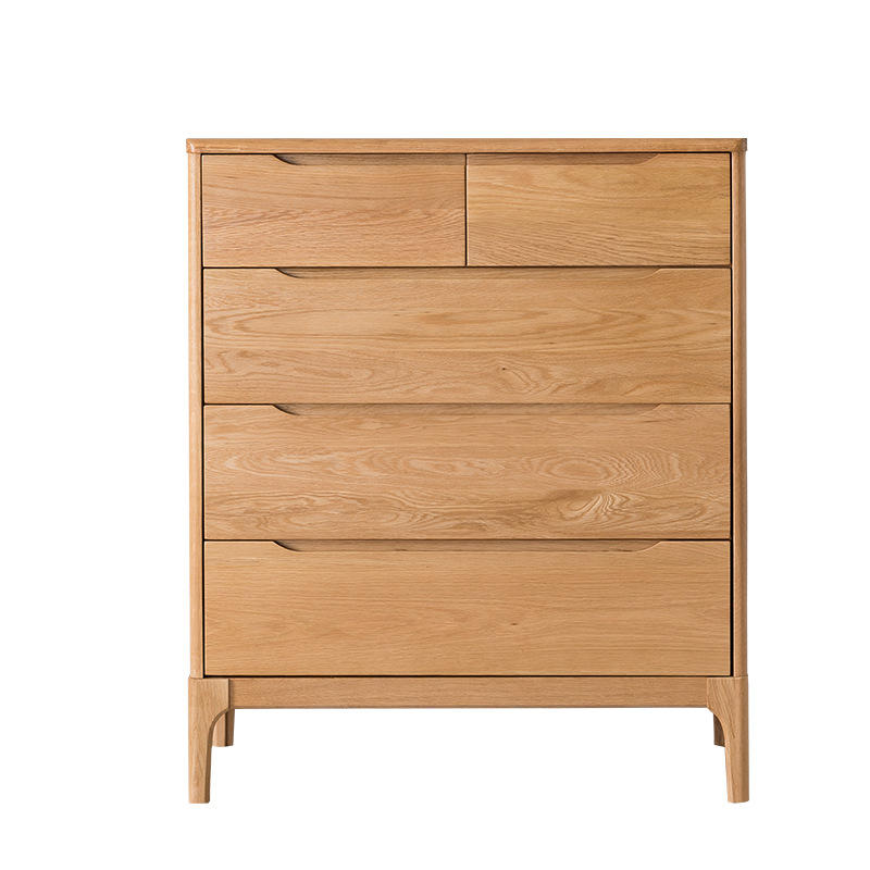 Bedroom Wood White Fair Price Home Furniture Pine Oak Chest Of Drawers
