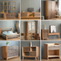 wholesale buffmodern philippines corner wardrobe cabinet with many drawer solid wood furniture used