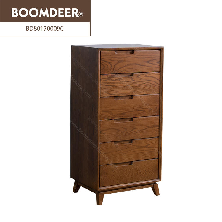 6 Drawer File Cabinet Living Room Solid Wood Furniture Storage Cabinet Office Use For Study