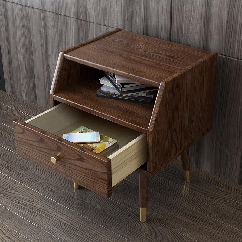 wooden nightstand bedside table bedroom hotel home furniture luxury rustic country farmstyle modern stylish made of custom