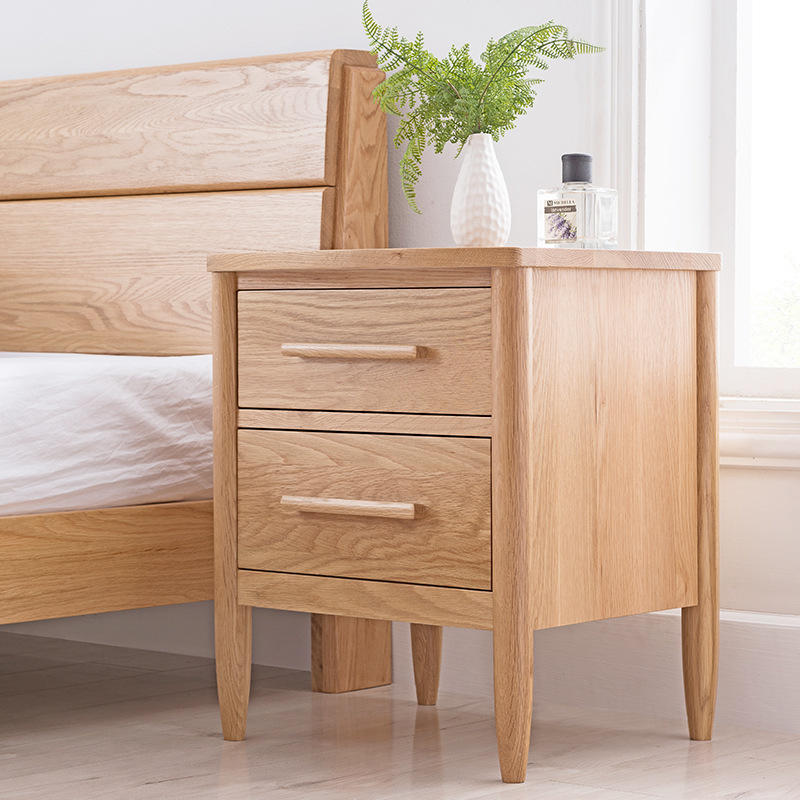 2020 wooden nightstands for sale set of 2 bedside table nightstand modern fashion with storage with drawers high quality movable